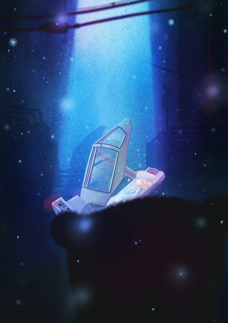 Plakát Ztracena ve vesmíru