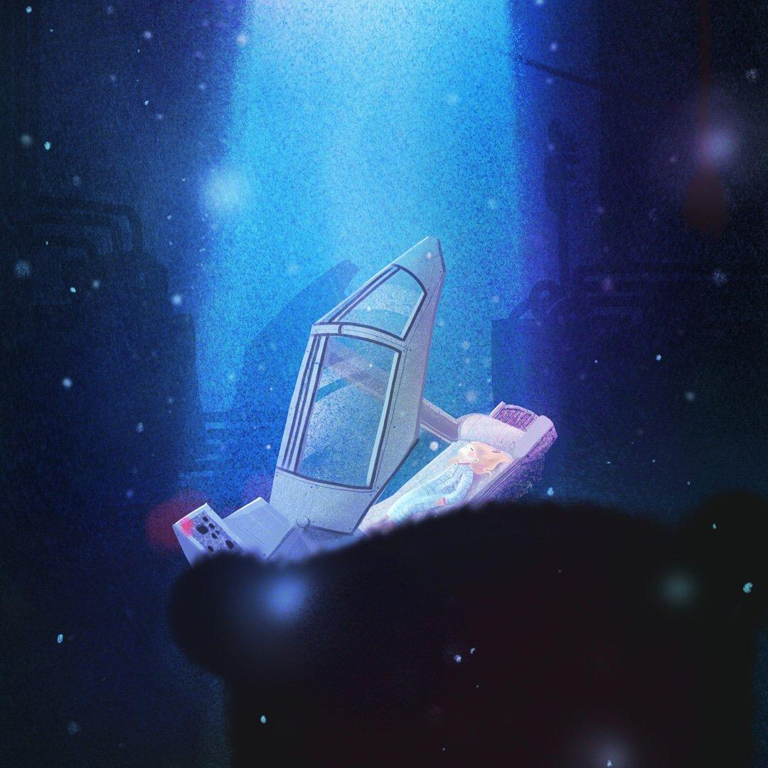 Ztracena ve vesmíru